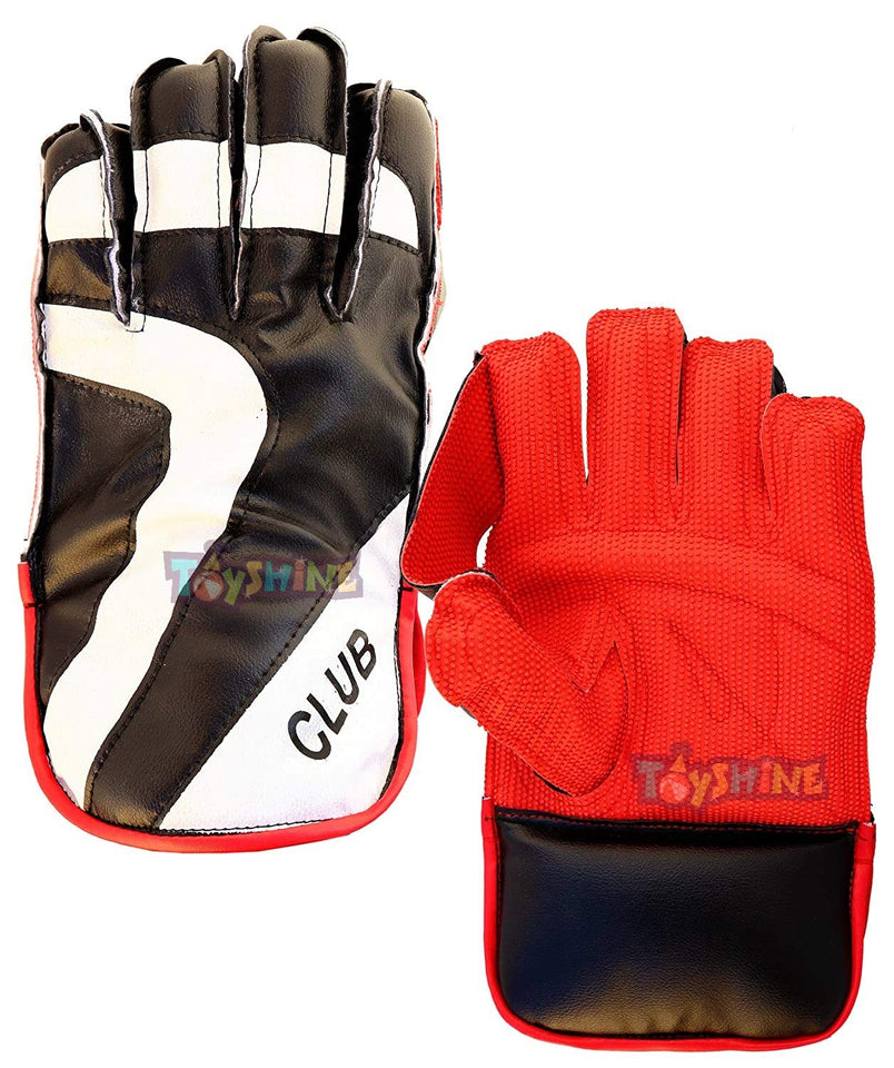 Toyshine Cricket Wicket Keeping Gloves - Assorted color (SSTP)