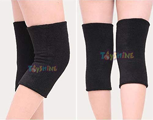 Toyshine Warmer Knee Leg Support, Knee Protector (1 Pair), for Running & Sports, Mix -Color (SSTP)