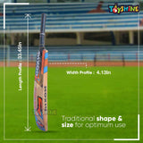 Toyshine Kashmiri Willow (Status) Cricket bat forl Leather Ball Play with Cover Bag(SSTP)