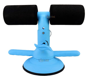 Toyshine Portable Fitness Equipment Self Suction Sit-Up, Ab Exerciser, for Losing Weight, Mix-Color (SSTP)