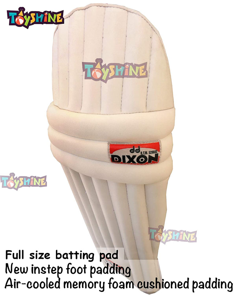 Toyshine Cricket Batting Pads (Youth Size), Mix-Color (SSTP)
