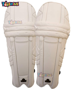 Toyshine Full Size PU Leather Cricket Batting Leg-Guard for Body Protection, Mix-Color (SSTP)