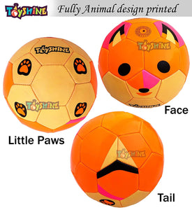 Toyshine Edu-Sports 2 in 1 Kids Football Soccer Educational Toy Ball, Size 3, 4-8 Years Kids Toy Gift Sports - Fox and Sloth