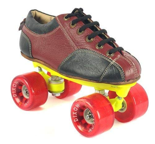 Toyshine Leather Skate Shoes with Carry Bag (Size 5) for Seniors SSTP