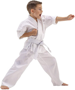 Toyshine Martial Arts Karate Uniform 28no for (6 to 8 Yrs) with White Belt