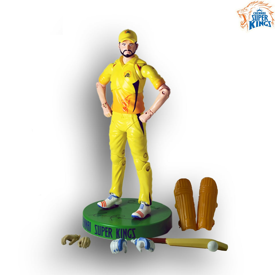 Chennai Super Kings Action Figures - (Suresh Raina Action Figure)