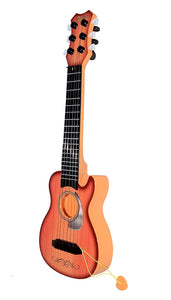 Toyshine Small-Sized, 6 String, Acoustic Guitar Learning Kids Toy, Assorted Design