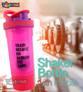 Toyshine Sports Gym Shaker Bottle, 700ml, Perfect for Protein Shakes, 100% Leakproof (Pack of 1)