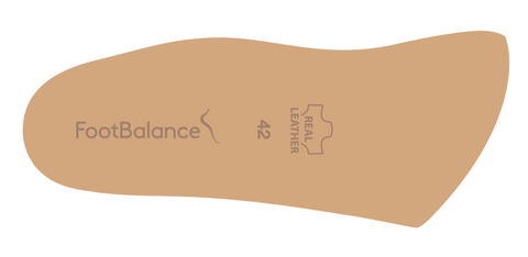 FootBalance 3/4 Leather Insoles