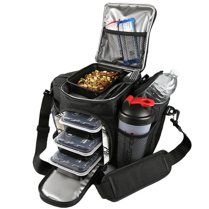 3 Meal Bag Utilized , Meal Prep Bag