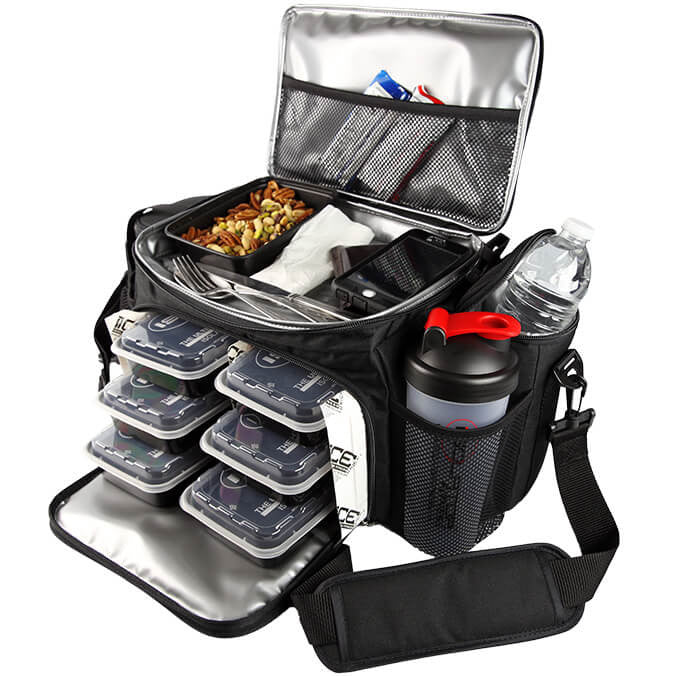6 Meal Bag Utilized ; Meal Prep Bag
