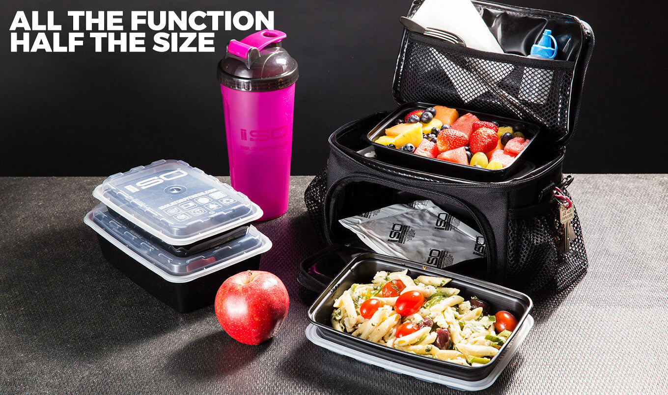 2 meal mini, small lunch box