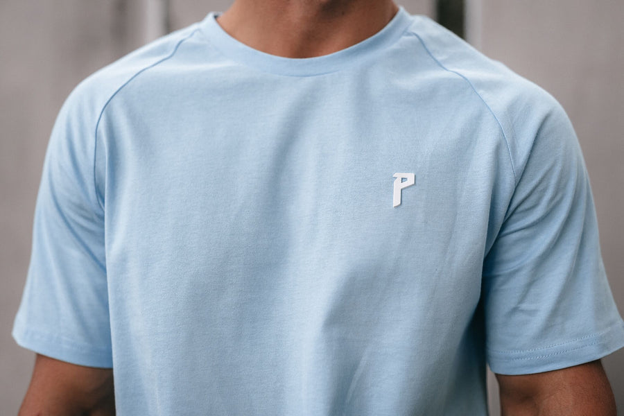 Iconic 2 Baby Blue Tee