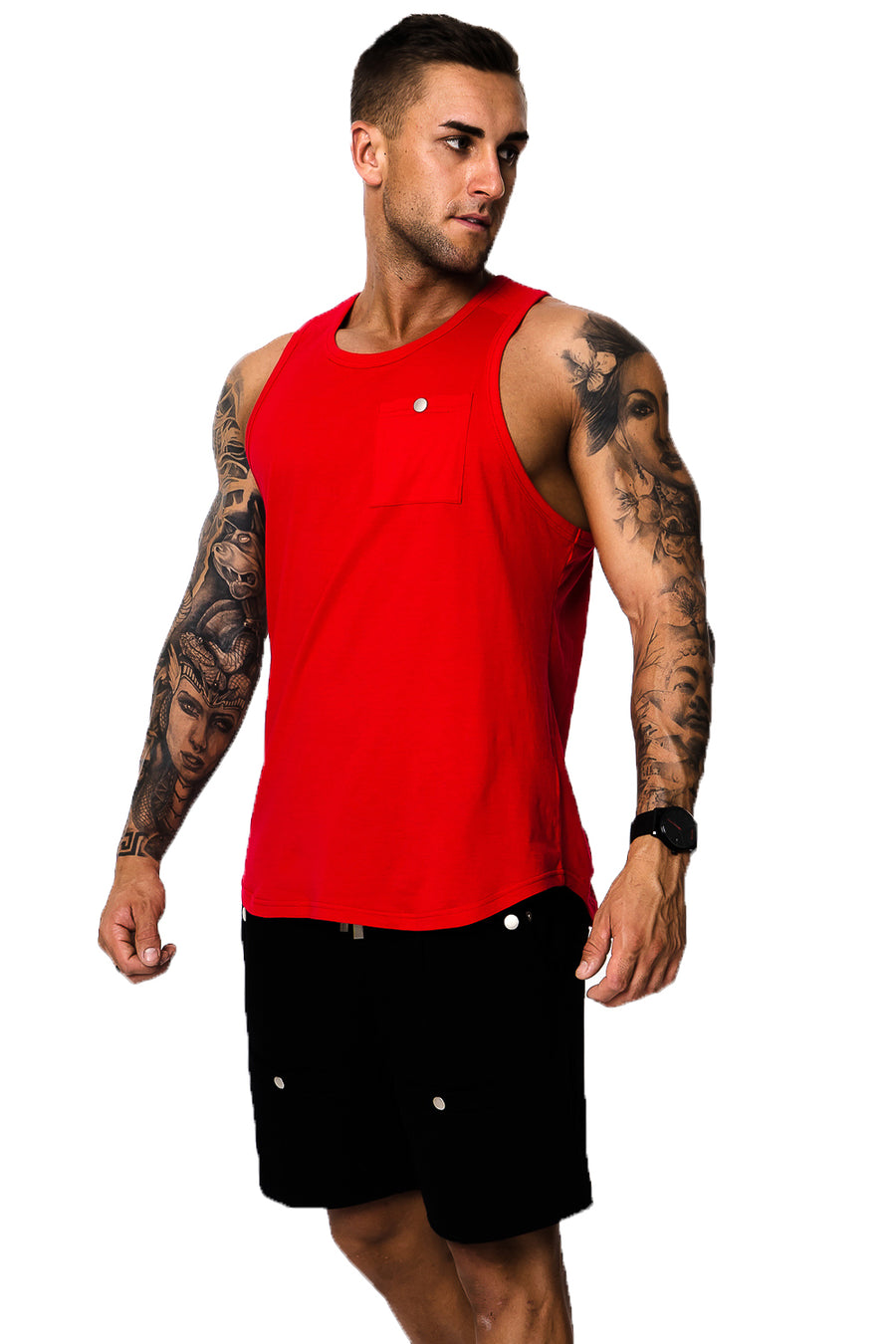 Costilla Red Singlet