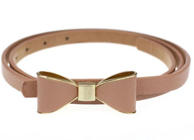 Butterfly Leather Belt