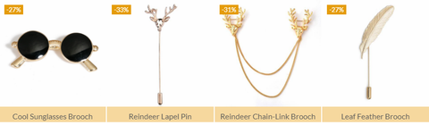 Buying Brooches Online in India