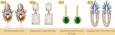 Buying Earrings Online in India