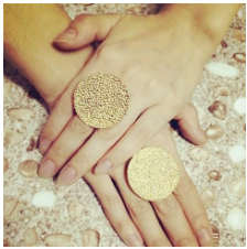 Coin Shaped Rings Online