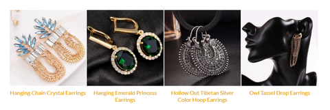fancy earrings with price India
