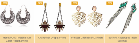 Shopping For Artificial Earrings Online India
