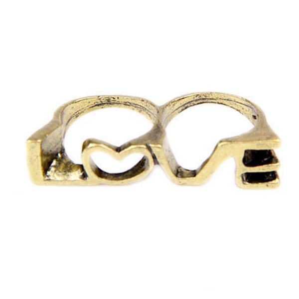 Love Two-Finger Ring