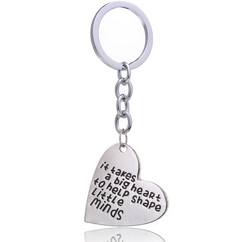 Big Heart Keychain
