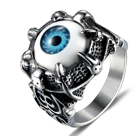 Punk Eyes Gothic Ring