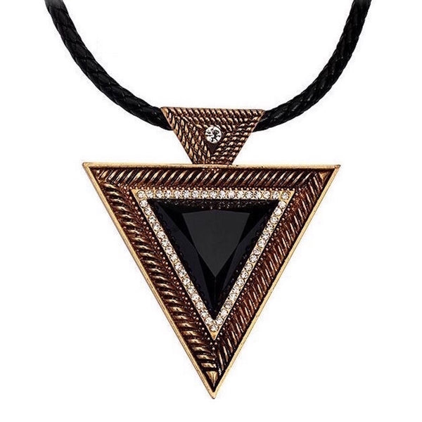 Inverted Triangle Exaggerated Necklace