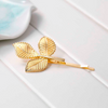 Leaf Barrettes Hairclips (Pair)