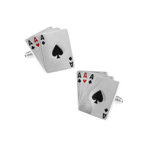 Ace Trail Casino Cufflinks