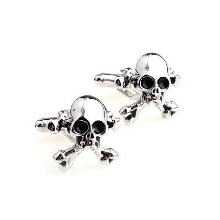 Danger Skull Cufflinks