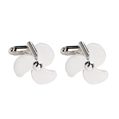Airoplane Fan Shape Cufflinks
