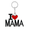 Blingg I LOVE MAMA Keychain Gift for Men & Women
