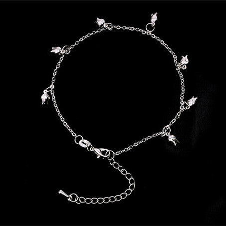 Star Bell Charms Bohemian Anklet