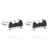 Black Enamel Batman Cufflinks