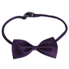 Royal Purple Polyester Bowtie