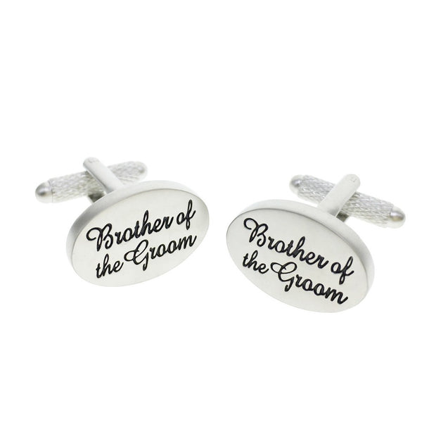 Brother of The Groom Wedding Cufflinks