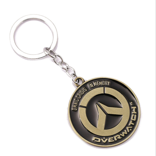 Overwatch Game Keychain