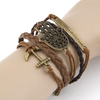 Multilayer Lucky Charm Rope Bracelet
