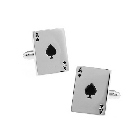 Aces Poker Cufflinks