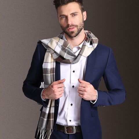 Winter Warm Tartan Scarf/Muffler