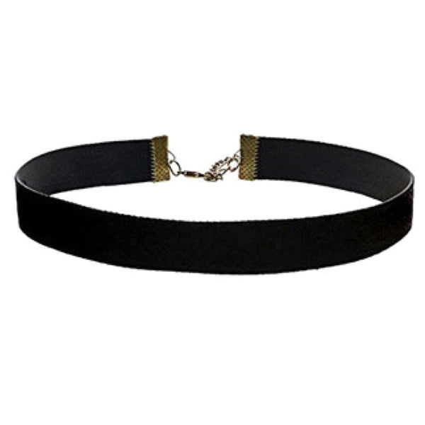 Gothic Strap Choker Necklace