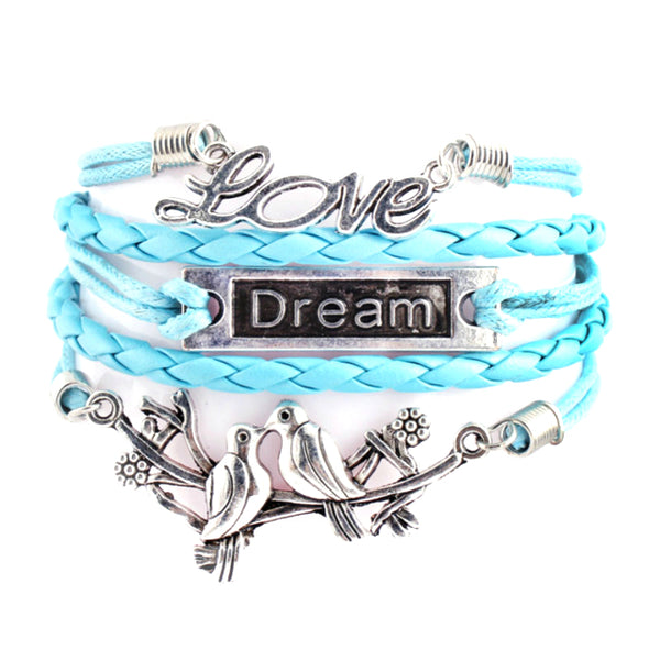 Love Dream Pigeons Multilayer Wristband