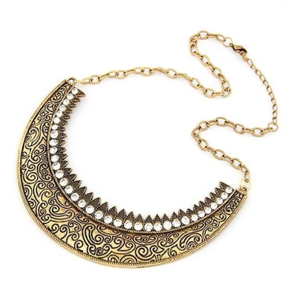 Exaggerated Curve Necklace