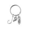 LOVE YOU DAD Fish Hook Charms Keychain