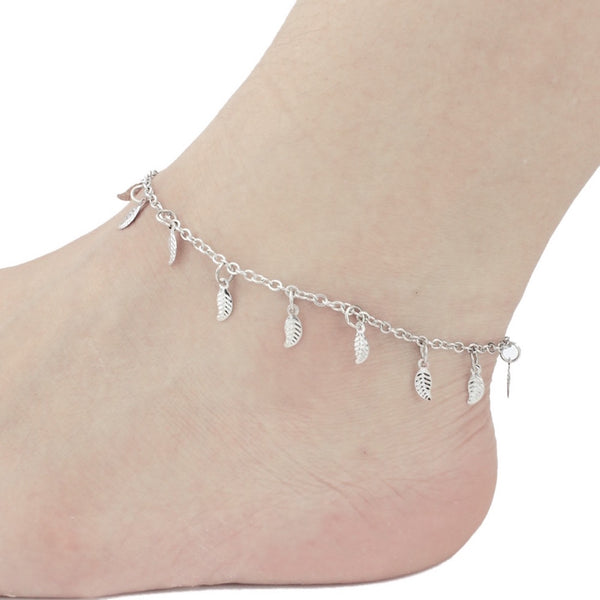 Dangling Leaves Anklet
