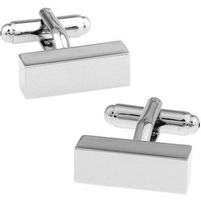 Rectangle Bar Cufflinks