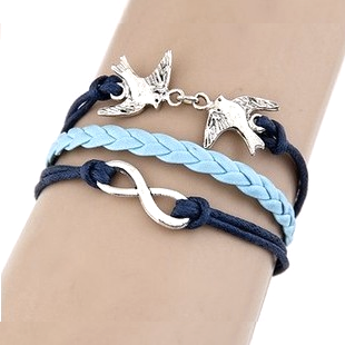 Multilayer Infinity Pigeon Rope Bracelet