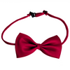 Maroon Magic Polyester Bowtie