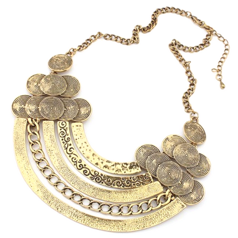 Connected Coins Necklace
